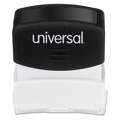 Universal® Pre-Inked One-Color Stamp