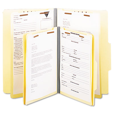 Universal® Six-Section Classification Folders