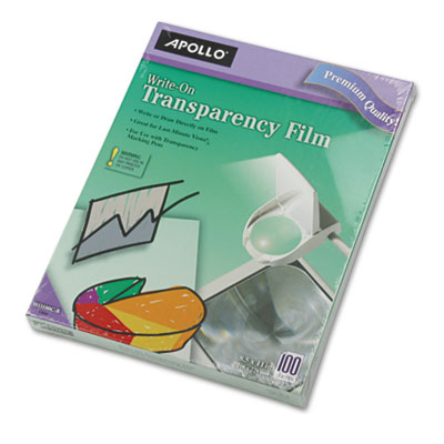 Apollo® Write-On Transparency Film