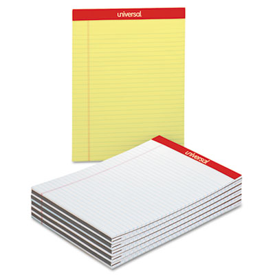 Universal® Economy Ruled Writing Pads