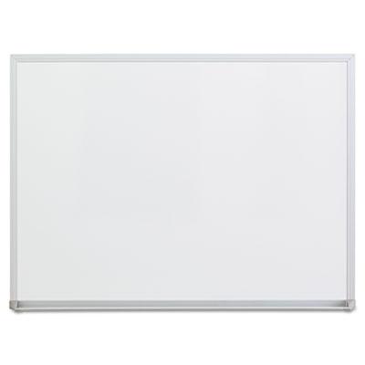 Universal® Melamine Dry Erase Board with Aluminum Frame