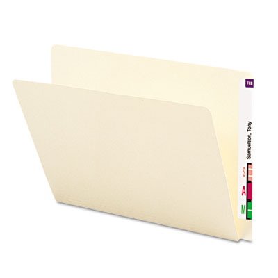 Smead® Extended End Tab Manila Folders