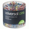 Universal One™ Vinyl-Coated Wire Paper Clips