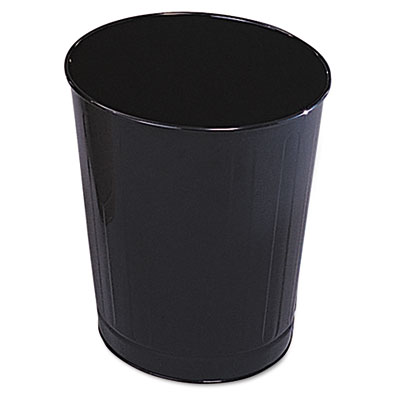 Rubbermaid® Commercial Fire-Safe Steel Round Wastebaskets