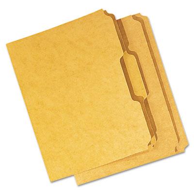 Universal® Reinforced Kraft Top Tab File Folders