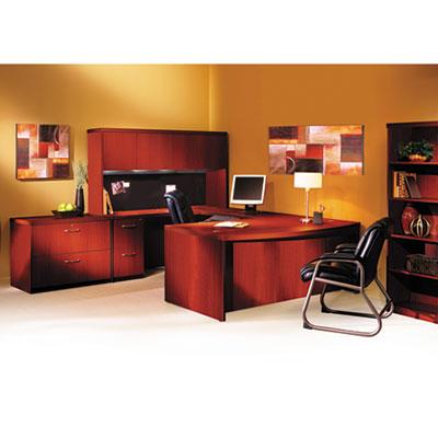 Mayline® Aberdeen® Series Bow Front Desk Shell