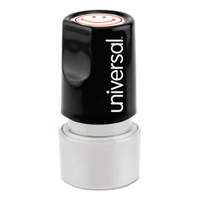 Universal® Pre-Inked One-Color Round Stamp