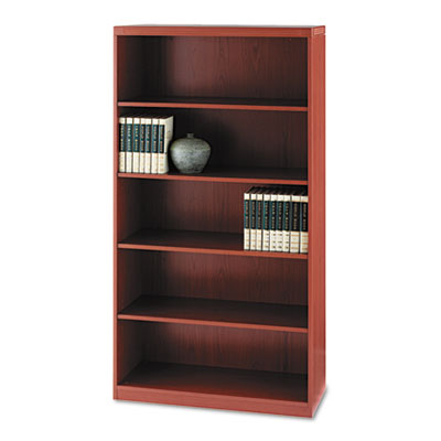 Mayline® Aberdeen® Series Five-Shelf Bookcase