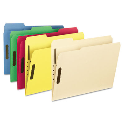 Universal® Reinforced Top Tab Folders with Fasteners