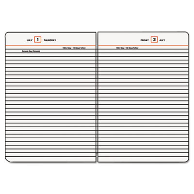 AT-A-GLANCE® Standard Diary® Loose-Leaf Daily Diary Refill for SD882