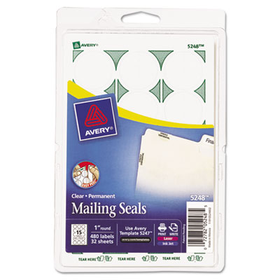 Avery® Printable Mailing Seals