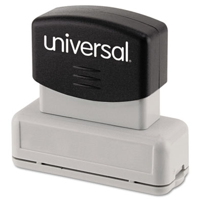 Universal® Recycled Pre-Inked Custom Stamp