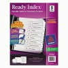 Avery® Ready Index® Customizable Table of Contents Black & White Dividers