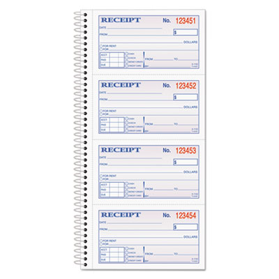 Adams® 2-Part Receipt Book