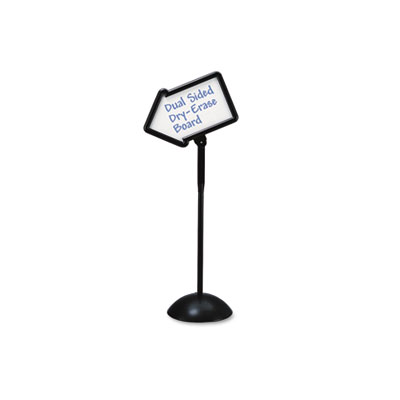 Safco® WriteWay™ Double-Sided Dry Erase Standing Message Sign