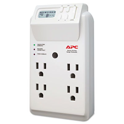 APC® Power-Saving Timer Essential SurgeArrest Surge Protector