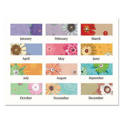 AT-A-GLANCE® Paper Flowers Desk Pad