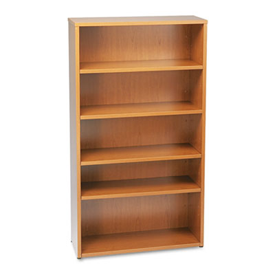 basyx® BL Laminate Series Five-Shelf Bookcase