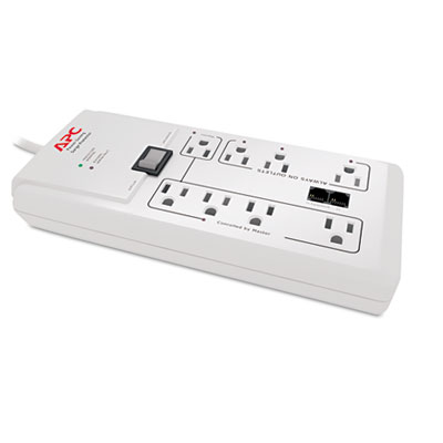 APC® Power-Saving Home/Office SurgeArrest Protector