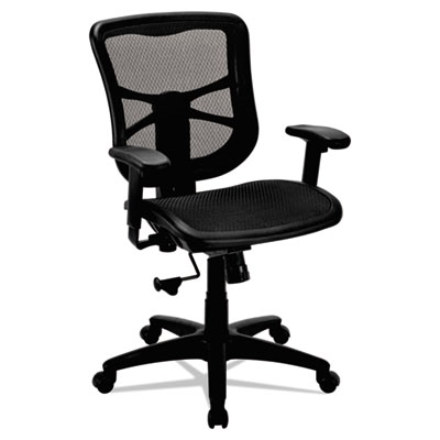 Alera® Elusion Series Mesh Mid-Back Swivel/Tilt Chair