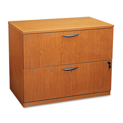 basyx® BL Laminate Series Two-Drawer Lateral File Pedestal