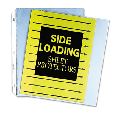C-Line® Side Loading Polypropylene Sheet Protector