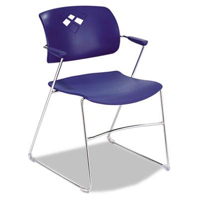 Safco® Veer™ Flex Back Stacking Chair