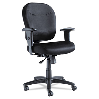 Alera® Wrigley Series Mesh Swivel/Tilt Mid-Back Chair