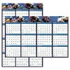 House of Doolittle™ Earthscapes™ 100% Recycled Sea-Life Scenes Reversible/Erasable Yearly Wall Calendar