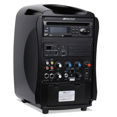 AmpliVox® Rechargeable Wireless PA System