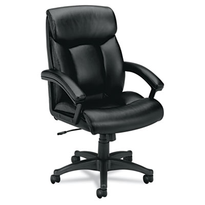 basyx® VL151 Executive High-Back Leather Chair