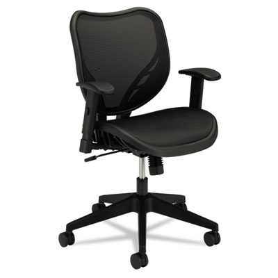 basyx® VL552 Mesh Mid-Back Task Chair with Mesh Seat