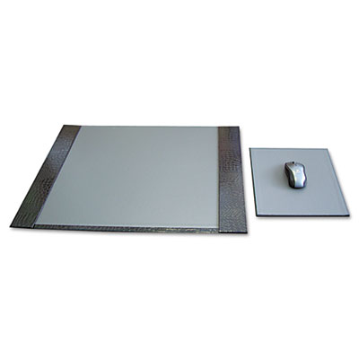 Aurora Products PROFormance Croc Embossed Desk Pad and Mouse Pad