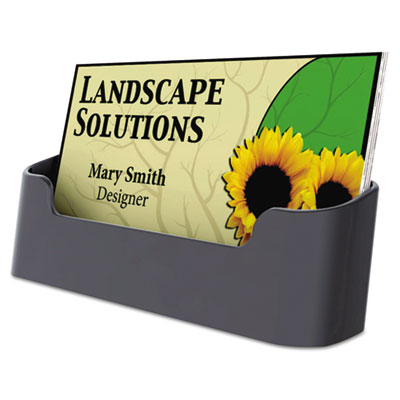 Universal® Recycled Plastic Business Card Holder