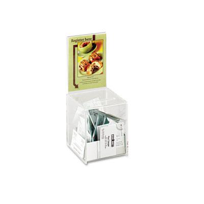 Safco® Small Acrylic Collection Box