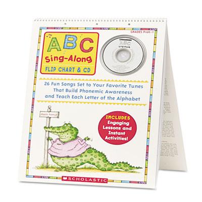 Scholastic ABC Sing-Along Flip Chart
