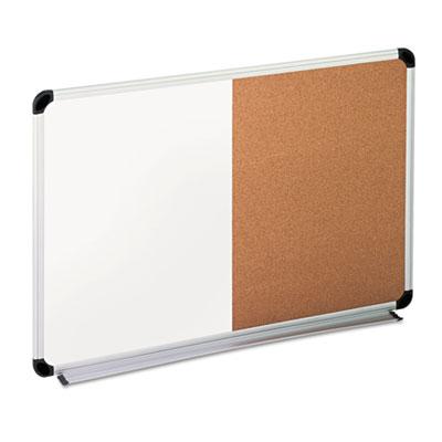 Universal® Combination Dry Erase Bulletin Board
