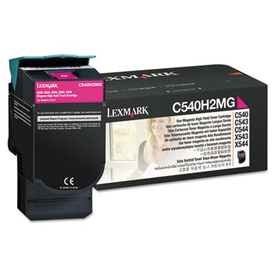 Lexmark™ C540H2CG, C540H2MG, C540H2YG Toner