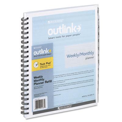 AT-A-GLANCE® Outlink® Weekly/Monthly Appointment Book Refill