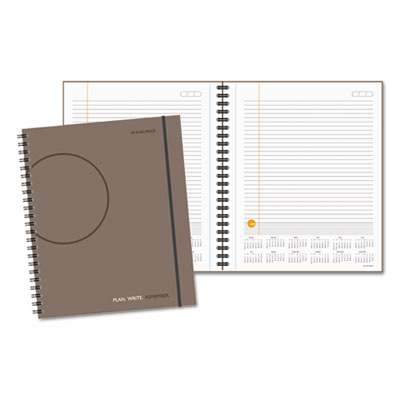 AT-A-GLANCE® PLAN.WRITE.REMEMBER.® Planning Notebook with Reference Calendar