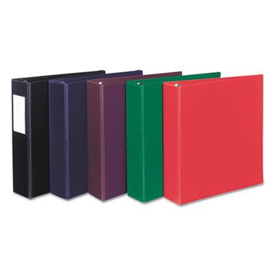 Avery® Heavy Duty Non-View Binder with Locking One Touch EZD™ Rings