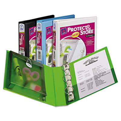 Avery® Mini Size Protect & Store™ View Binder with Round Rings