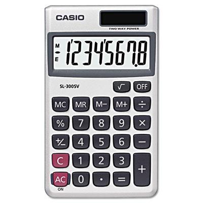 Casio® SL-300SV Handheld Calculator