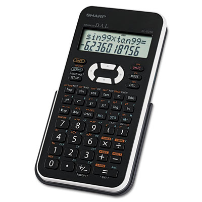 Sharp® EL-531XBWH Scientific Calculator