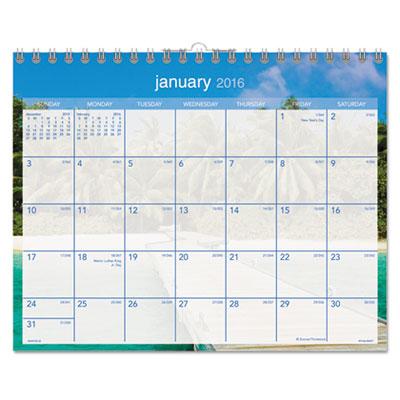 AT-A-GLANCE® Tropical Escape Wall Calendar