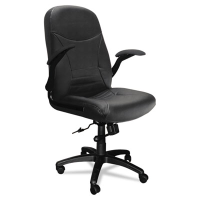 Mayline® Big & Tall Series Executive Swivel/Tilt Chair with Upholstered Arms