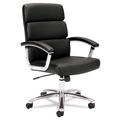 basyx® VL103 Executive High-Back Leather Chair