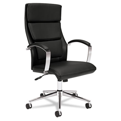 basyx® VL105 Executive High-Back Leather Chair