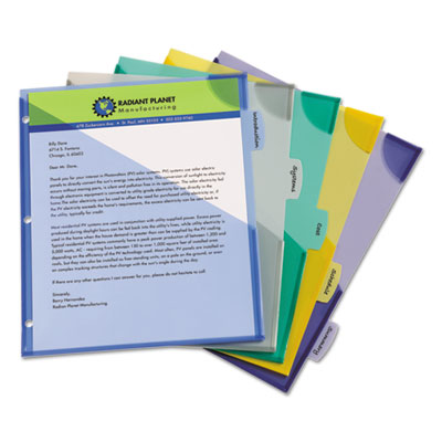 Avery® Write & Erase Big Tab™ Plastic Dividers