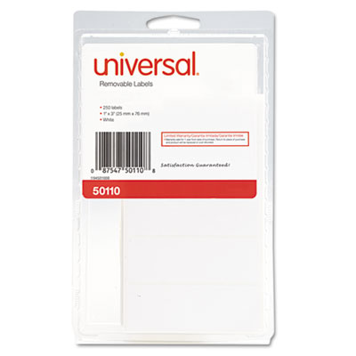 Universal® Self-Adhesive Removable ID Labels